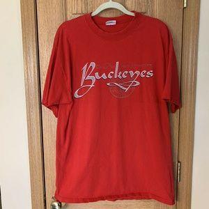 Vintage Ohio State University T Shirt Large